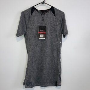 Spyder Active Men's Quick Dry gray T-shirt